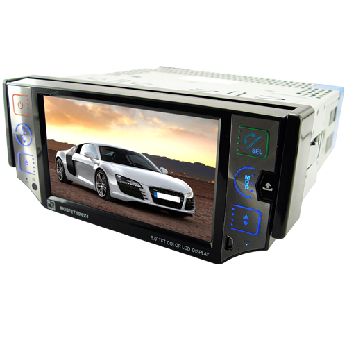 Budget - 1 DIN Car DVD Player with Bluetooth + GPS Navigator