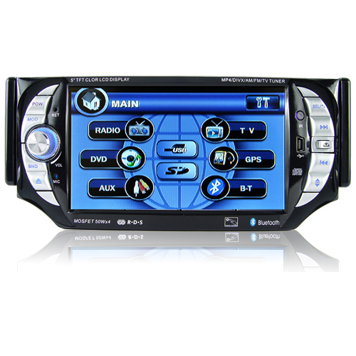 Car Stereo Multimedia Player System (1 DIN, 5 Inch