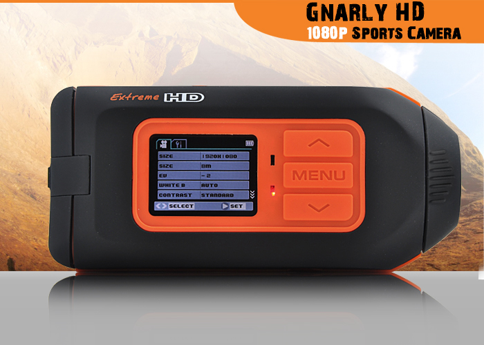 Gnarly HD - 1080P Sports Action Camera (High Definition, MOV@ 30FPS)