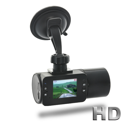 "Wholesale 720P HD Car DVR (1/4"" CMOS, Nightvision, 2.0\"" TFT Screen)"