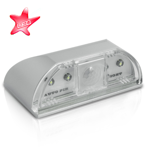 Wholesale Mini PIR LED Light (Motion Detection, 4 LEDs)