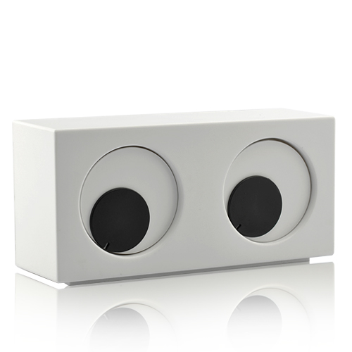 Wholesale Rotating Iris Eye Desktop Clock - Unique Novelty