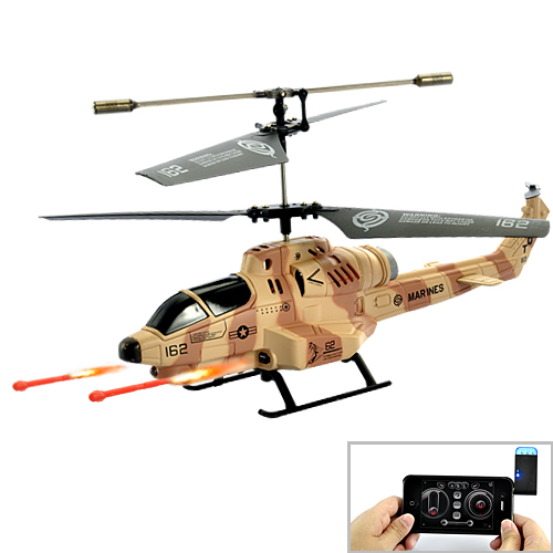 Cobra iHelicopter - RC Helicopter with iPhone/iPad/iPod/Android Phone Controlled (Desert Camouflage)