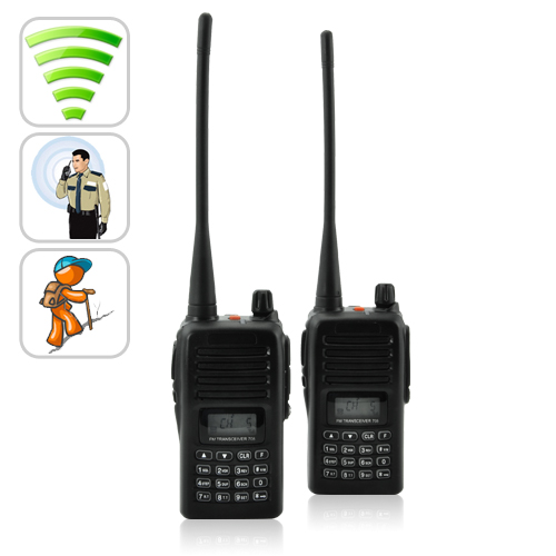 Handsfree Two-way Walkie Talkie (110V, VOX)