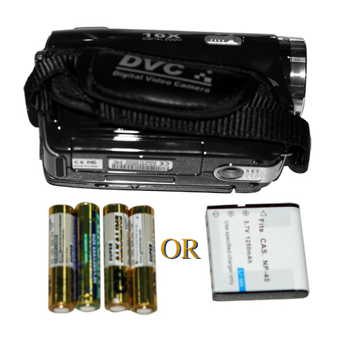 3 Inch Touchscreen Digital Video Camcorder (5MP CMOS, 1024x768 @ 30 FPS)