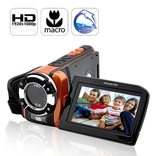 Wholesale C-Shock 1080P HD Sport Camcorder with Macro (16MP, Waterproof, HDMI)