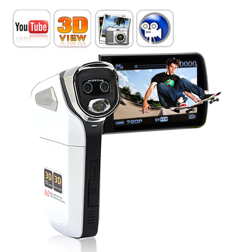 Wholesale 3D Video Camcorder - Watch 3D YouTube and TVs without 3D Glasses