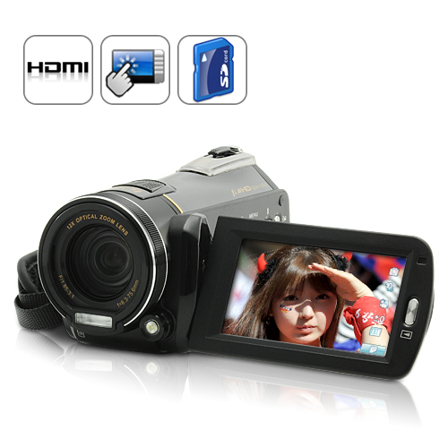 Wholesale 1080P HD Digital Camcorder (20MP Images, Touchscreen, HDMI)