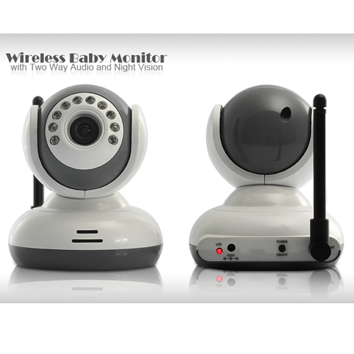 Two Way Audio Monitor : Wireless baby monitor with av out two way audio night