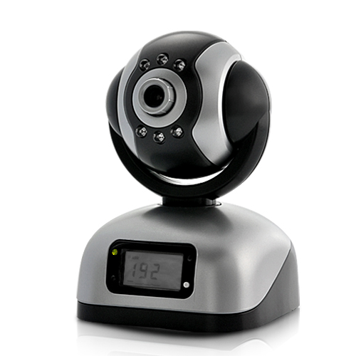 IP Security Camera with Video Recording CF Card Slot