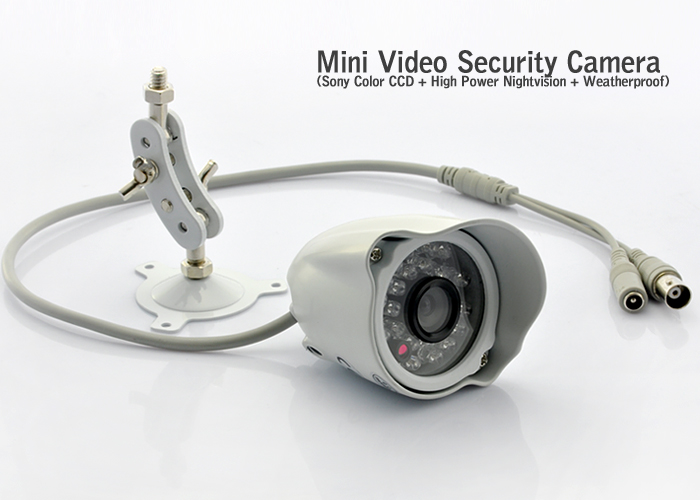 "Wholesale 1/3"" Sony CCD Mini Security Camera (480 TVL, Weatherproof, PAL)"