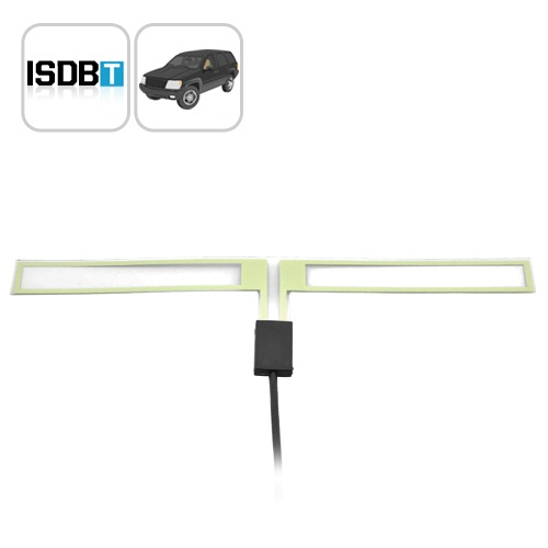 ISDB-T Car Antenna for Luxury Cars (MPEG2/MPEG4) - Easy DIY