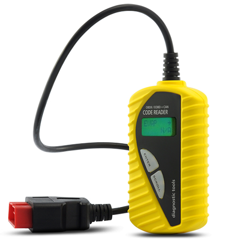 EOBD OBD-2 Code Scanner + Car Trouble Code Reader