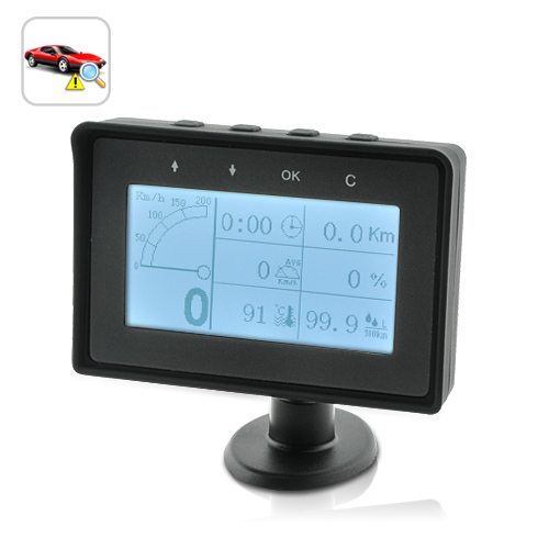 4 Inches Car OBD-II Diagnostics Tool