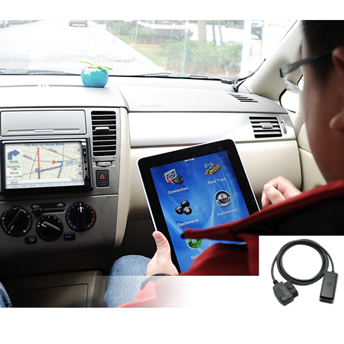 OBD-2 Car Diagnostics Tool with WiFi for Apple iPad, iPhone, iPod, PC Laptops