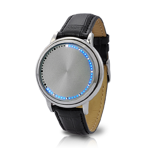 Abyss Steel - Japanese-inspired LED Watch - Blue