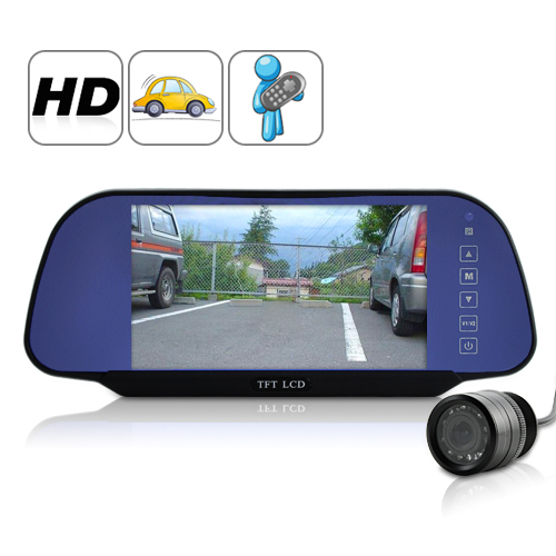 7 Inch TFT HD Rearview Monitor + Rearview Camera