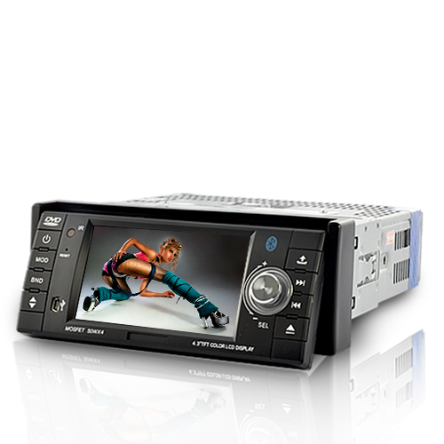 Road Ninja - 1 DIN Car DVD Player (4.3 Touchscreen, Bluetooth, Detachable) [TUA-C123]- US$140.26 - PlusBuyer.com