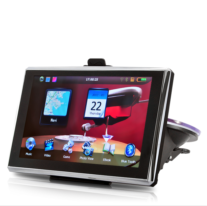 "Wholesale Navitron - 5"" HD Touchscreen SiRF IV GPS Navigator (Bluetooth, Win CE)"