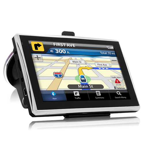 "Wholesale Navidos - 5"" Touchscreen SiRF Atlas V GPS Navigator (600MHz, Windows CE6.0)"
