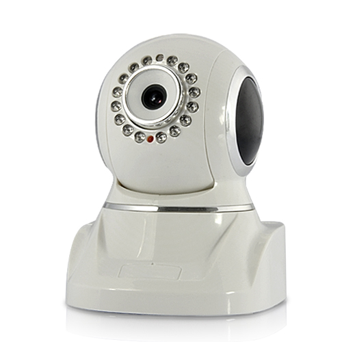 Wireless IP Camera with Pan and Tilt (Nightvision, Motion Detection)