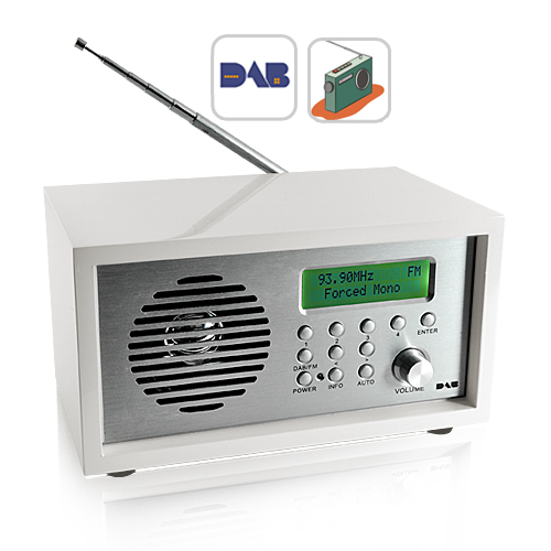 iRadio - DAB/FM Radio with Alarm Clock