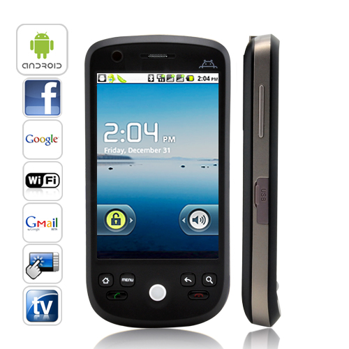 Eclipse - 3.2 inch Android 2.2 Smartphone (WiFi, Dual SIM, TV)
