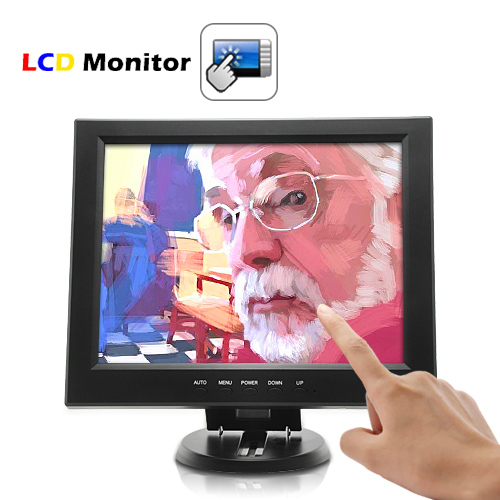 12 Inch Touchscreen VGA LCD Monitor - Ideal for Artists / Designers