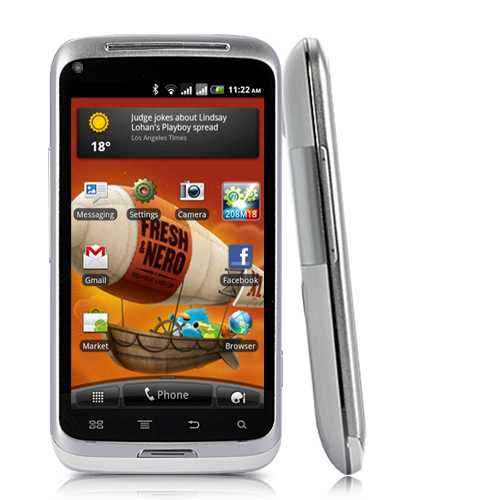 CyberRadiance - 4 Inch Capacitive Touchscreen 3G Android 2.3 Smartphone with 8MP Camera