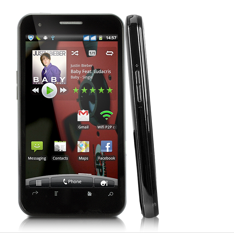 Aura - 4.3 Inch HD Capacitive Screen 3G Android 2.3 Smartphone (680MHz, 5MP Camera)