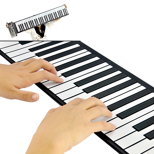 Wholesale Flexible Roll Up Piano (Soft 61 Keys, 128 Synthesized Tones)
