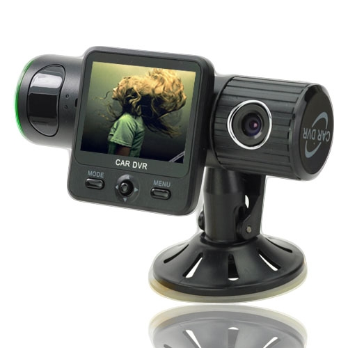 1080P Car DVR Recorder with Motion Detection - 2.0 Inch LCD Screen