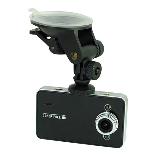 2.7 inch TFT Full HD 1080P Vehicle DVR with G-sensor - Balck