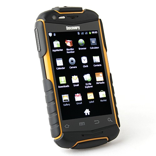 V5 Shockproof Android 2.3 Wi-Fi 3.5 Inch Capacitive Screen Smart Phone