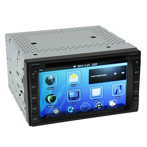 Wholesale 6.2 Inch Touchscreen 2-DIN Android Car DVD with GPS, DVB-T, Wi-Fi, 3G