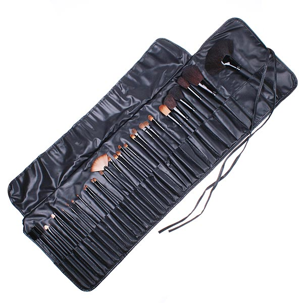 32 Pieces Makeup Brush Set with Black Pouch Bag images/20121201/TPH1207_5.jpg
