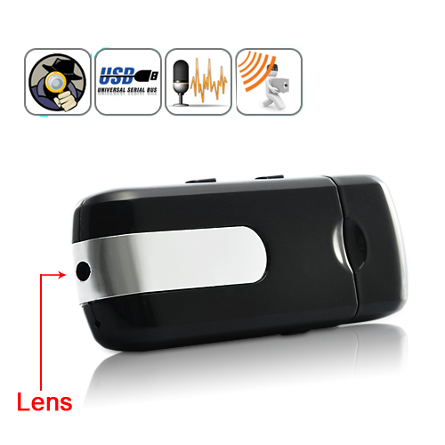 Wholesale 8GB USB Flash Drive Spy Camera with Motion Detection