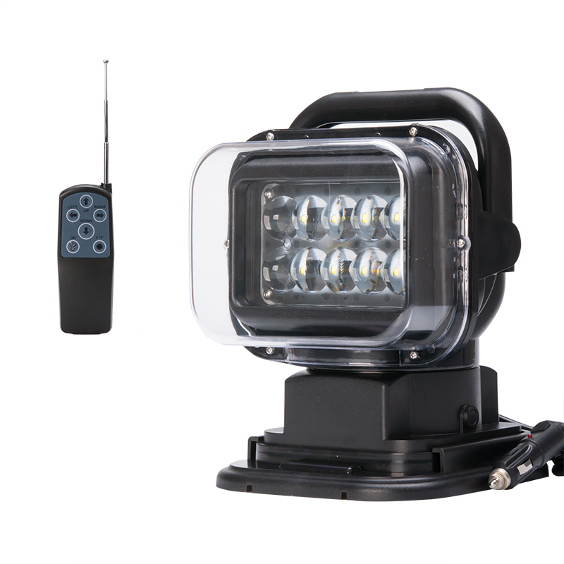 Wholesale  Cree XTE LED Car Search Light (Wireless Remote Control, 50W, 3200 Lumens, IP65 Splash Proof)