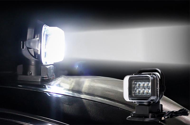 Cree Xte Led Car Search Light Wireless Remote Control