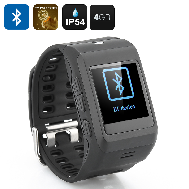 Wholesale 1.44 Inch Touchscreen Smart Watch for Phone (IP54, Bluetooth, Ca