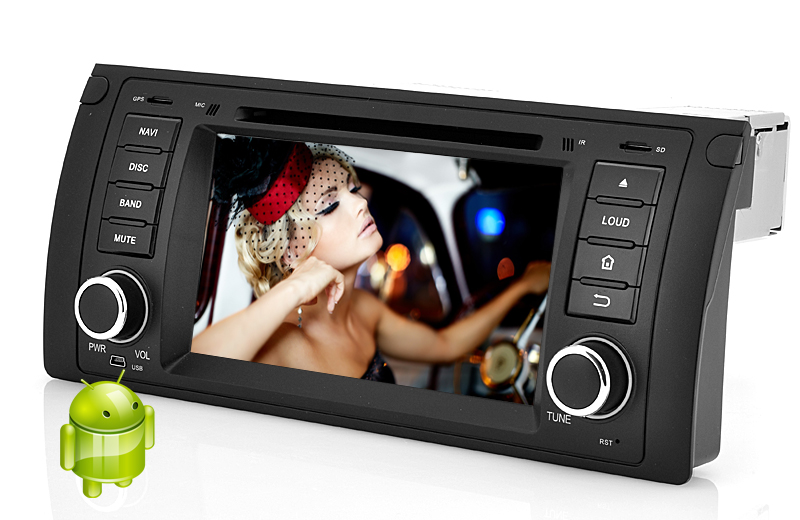 Wholesale 1 DIN Android 4.2 Car DVD Player for BMW E39 (7 Inch Touch Screen, Dual Core CPU, GPS, 1GB RAM + 8GB ROM)