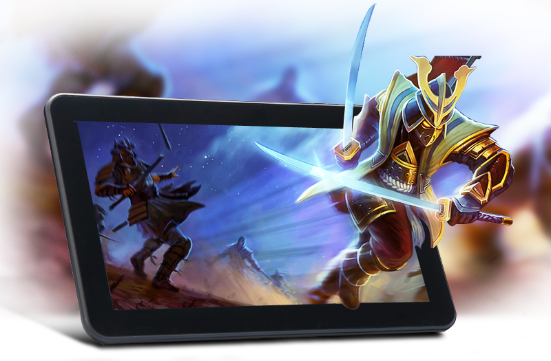 Warlord - 10.1 Inch Android Tablet (Dual Core 1.3GHz CPU, 1024x600, 8GB ROM, 5000mAh)