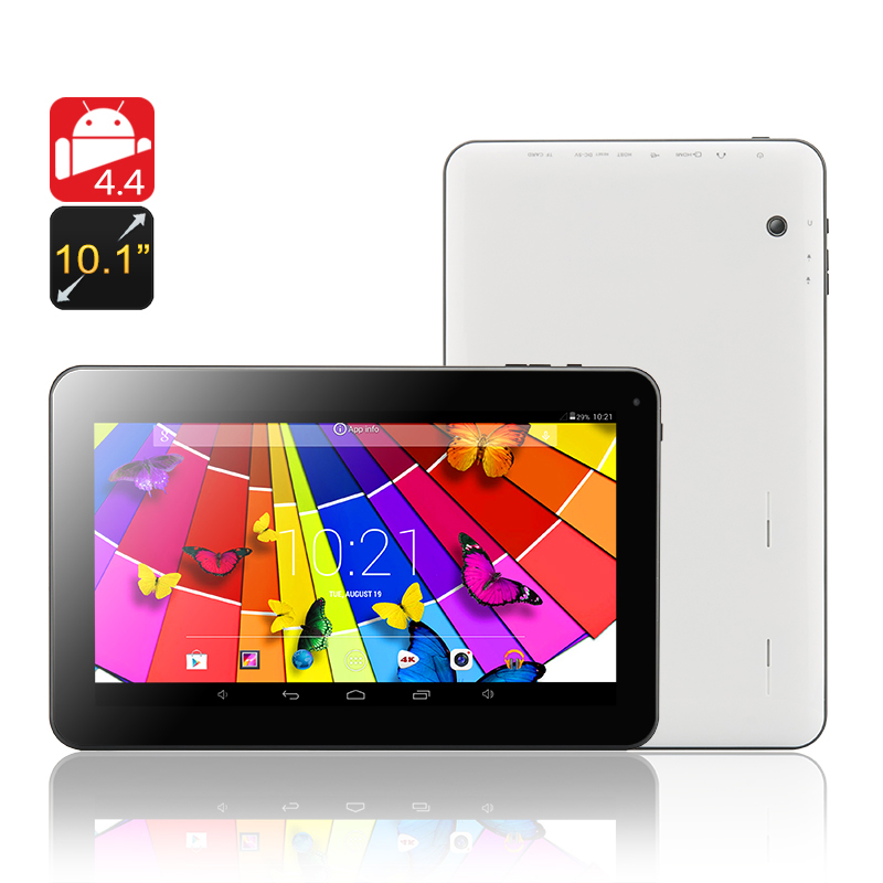 Wholesale Quantum - 10.1 Inch Quad Core Android 4.4 Tablet (OTG, 1024x600,
