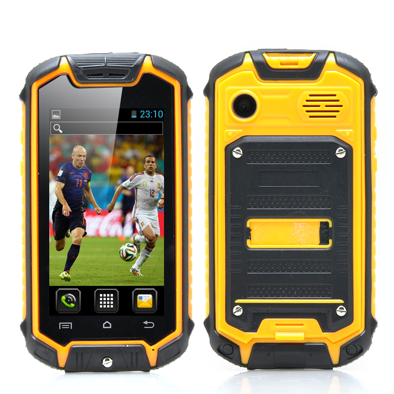 Wholesale Dual SIM Mini Rugged Android Phone (2.45 Inch, Water Resistant,