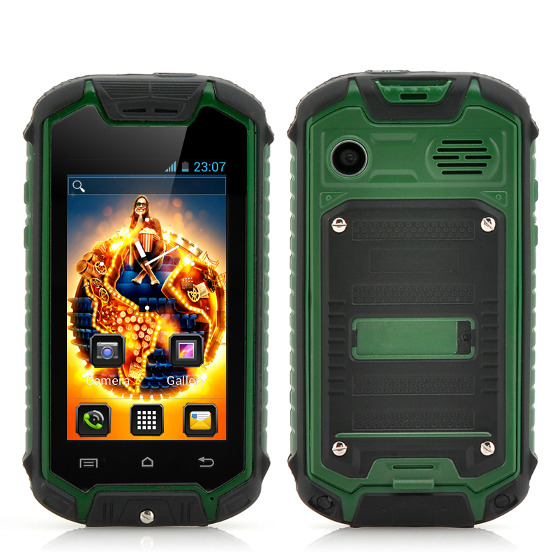 Wholesale 2.45 Inch Mini Rugged Android Smartphone (Water Resistant, Dual