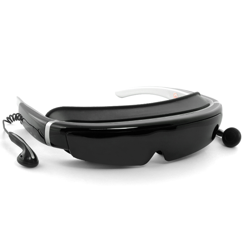 Wholesale Full HD 1080p 3D Virtual Screen Video Glasses with 98 Inch Virtual Screen (16:9, 8GB, AV In)