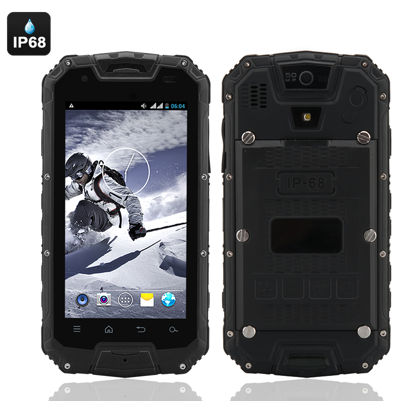 Wholesale Apex - 4.5 Inch Rugged 3G Smartphone (Dual Core, 3000mAh, IP68 W