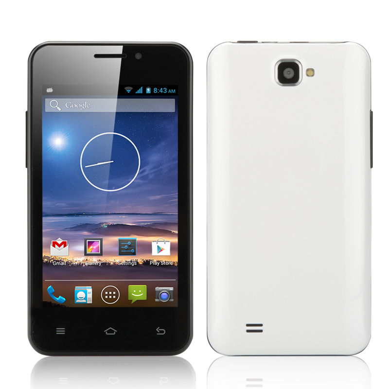 Wholesale Tegu - 4 Inch Android 4.2 Smartphone (Dual SIM, Dual Core CPU, W