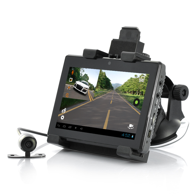 Wholesale 5 Inch Android Tablet + Car DVR + GPS (3x Cameras, 1080p, Wi-Fi)