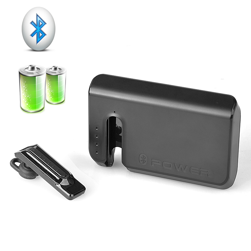 Wholesale 7800mAh Lithium Polymer Power Bank with Bluetooth 3.0 Earphone